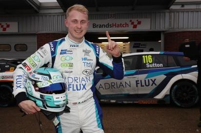 Ashley Sutton scores surprise pole for Brands Hatch BTCC opener
