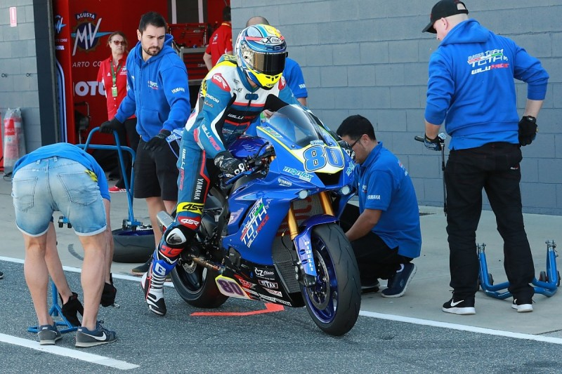Ex-MotoGP racer Hector Barbera misses race after alleged theft of bike