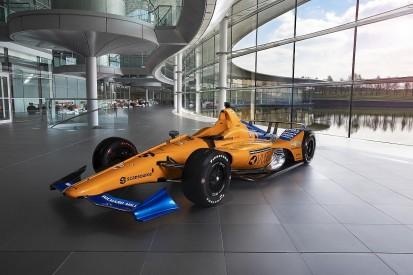 McLaren unveils Fernando Alonso's Indianapolis 500 livery