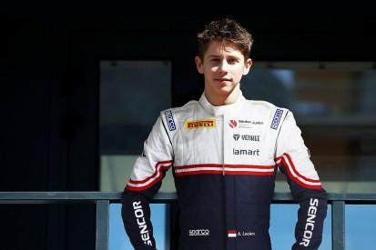Arthur Leclerc joins Sauber junior squad in German Formula 4