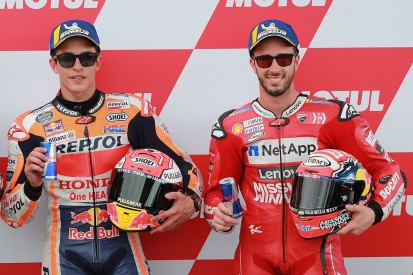 Marquez: Improved form has Dovizioso suffering less in title fight