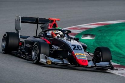 Hitech GP's Leonardo Pulcini sweeps FIA F3 testing at Barcelona