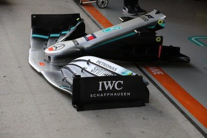 Chinese GP tech: Mercedes F1 team brings new endplate design