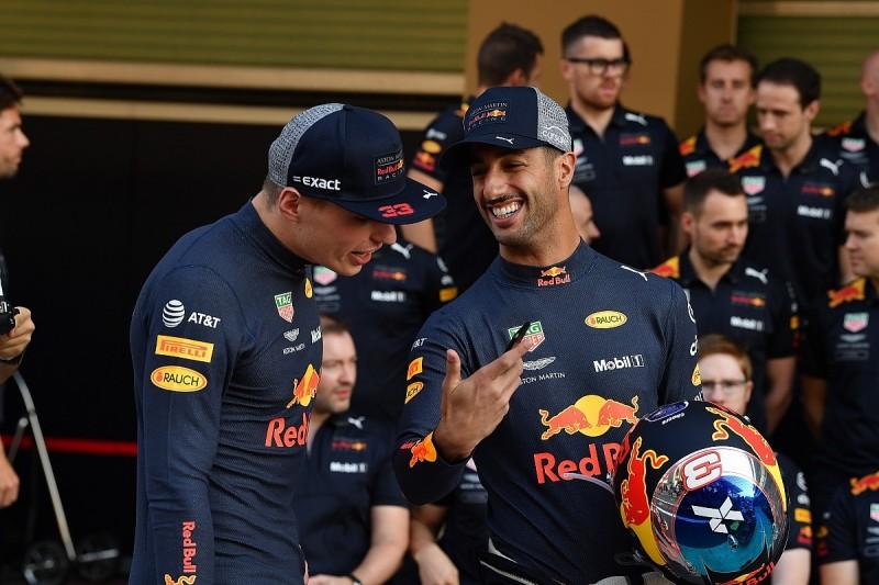 Ricciardo expected worse relationship with Verstappen as team-mates