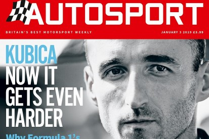 January 3 Autosport magazine issue delayed in some areas after fire