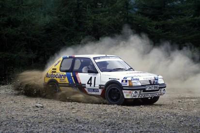 McRae, Burns Peugeot Challenge rally series celebrated