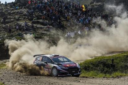 WRC2 frontrunner Greensmith gets M-Sport Fiesta Rally Portgual shot