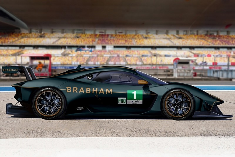 Revived Brabham marque aiming to race GTE Pro class at 2022 Le Mans