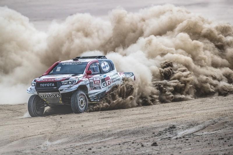 Dakar Rally 2019: Toyota's Nasser Al-Attiyah extends lead