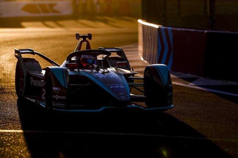 Marrakech Formula E: Jaguar driver Evans beats Lotterer in practice