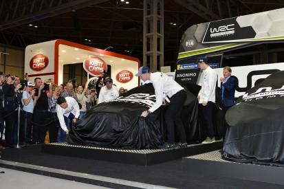 WRC teams' 2019 liveries unveiled at Autosport International