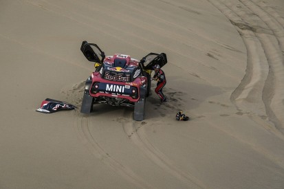 Peterhansel's co-driver escapes serious injury in Dakar exit