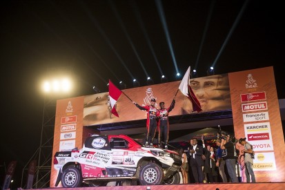 Nasser Al-Attiyah claims Toyota's first Dakar Rally victory