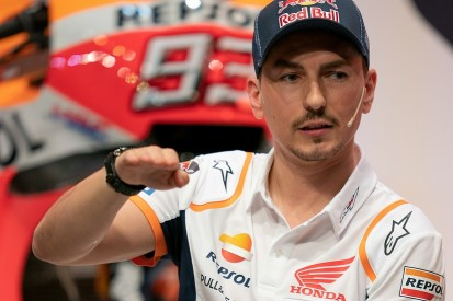 Jorge Lorenzo: Training accident ahead of 2019 MotoGP very stupid