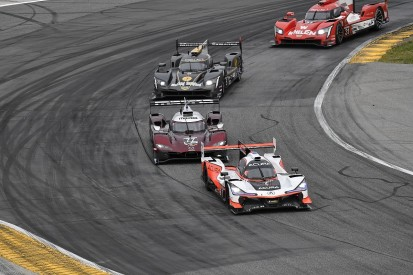 Daytona 24 Hours: Montoya holds early lead, Penskes running one-two