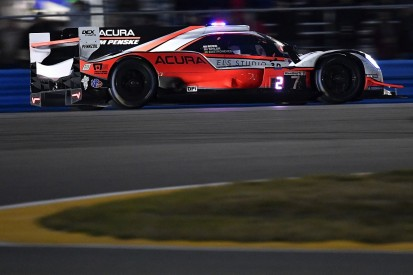 Daytona 24 Hours: Rossi leads at halfway point in #7 Penske Acura