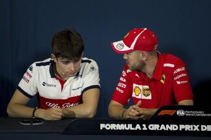 Button: Leclerc's Ferrari drive can give Vettel tough F1 future call