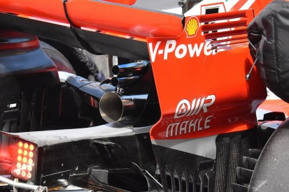 2019 Haas F1 design hints at double-stacked Ferrari exhaust system