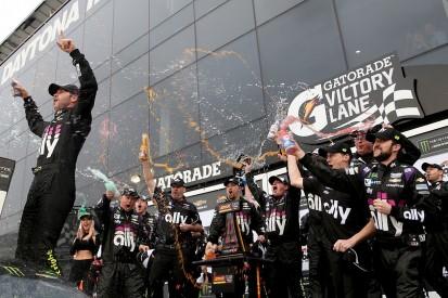 NASCAR Clash: Jimmie Johnson wins despite triggering crash