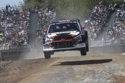Marcus Gronholm's GRX World Rallycross team adds third Hyundai