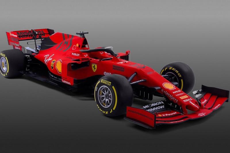 Ferrari launches its SF90 F1 car for 2019 season