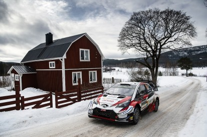 Ott Tanak takes two WRC Rally Sweden stage wins on opening morning