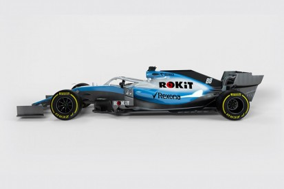 Williams releases first images of its 2019 F1 design