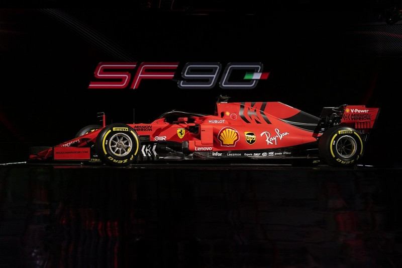 Ferrari's matte red 2019 F1 livery to help reduce SF90's weight