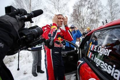 Sebastien Ogier has 'nothing to play for' after WRC Sweden crash