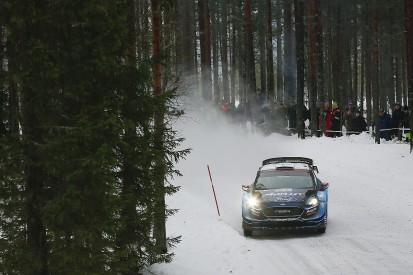 WRC Rally Sweden: Teemu Suninen error leaves Ott Tanak in big lead