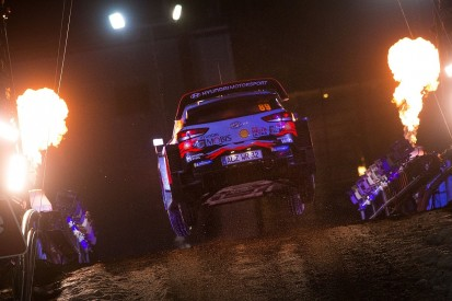 WRC Rally Sweden: Mikkelsen and Lappi tied for second behind Tanak