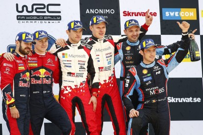 Ott Tanak takes World Rally Championship lead with Sweden win