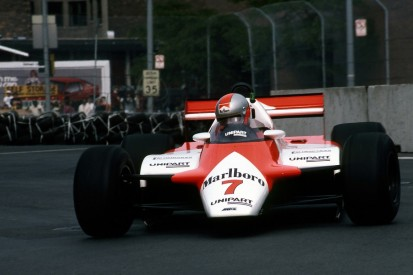 John Watson's 1982 Detroit win McLaren Formula 1 car back in action