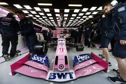 Racing Point's 2019 F1 car revealed at start of pre-season testing