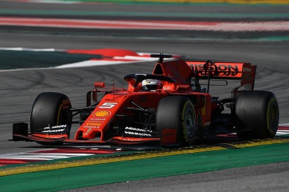 F1 testing: Ferrari and Sebastian Vettel dominate first morning