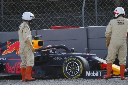 F1 testing: Tuesday crash caught Red Bull's Gasly by surprise