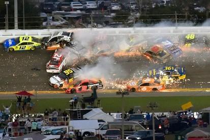 The Daytona 500 'Big One' crash that halted a NASCAR fairytale