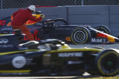 Video: Who's in trouble in Formula 1 testing behind Ferrari?