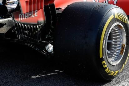 Ferrari tries Mercedes-style wheel concept on 2019 car in F1 test