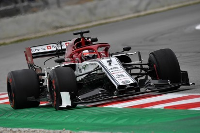 F1 testing: Raikkonen sets fastest lap so far, tops third morning