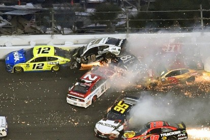 Daytona 500 NASCAR crash reminded Almirola of back-breaking shunt