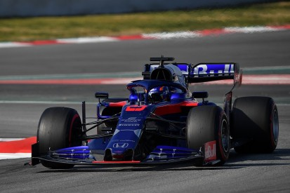 F1 testing: Toro Rosso's Albon on top, Mercedes starts to show pace