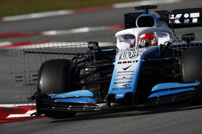 Williams running 'compromised' 2019 F1 car in testing, says Kubica