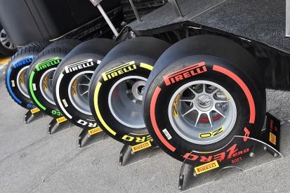 Pirelli reveals performance gaps between 2019 Formula 1 tyre types