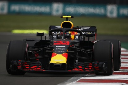 Mexican Grand Prix practice: Max Verstappen fastest after damp start