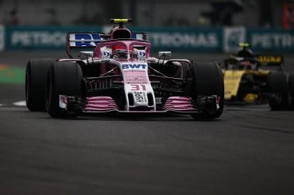 Force India's F1 Mexican GP Q2 tactics didn't feel great - Ocon