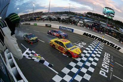 Martinsville NASCAR: Logano wins after last-corner Truex collision