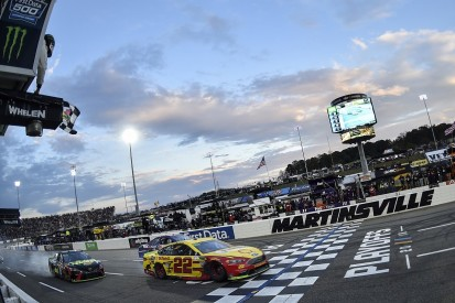 Logano calls Truex Martinsville Cup clash 'classic' NASCAR move