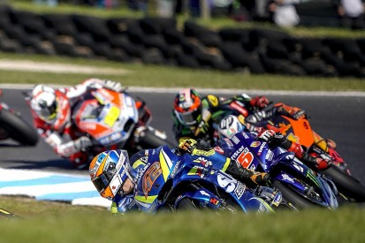 Rins was 'angry' at MotoGP Phillip Island winner Vinales for nudge