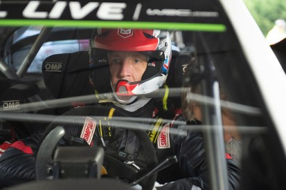 Meeke realised he hadn't enjoyed WRC after attending Rally Spain